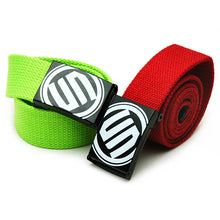 Waist Belt Men / Women / Kids / Teen Age, Casual Smooth Buckle Canvas Unisex Strap Belt.