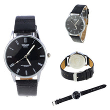 Classic Men's Watch with Roman Numbers / Leather strap / Waterproof Wrist Watch.