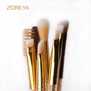 Famous Brand ZOREYA 2017 New 7 pcs Multifunctional Makeup Brush.