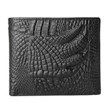 Leather Wallet with Crocodile Claw patern. Very Famous.