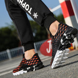 Leisure Flats, Shoes Unisex Light weight Breathable Summer Soft Footwear Flexible Lace Up Shoes.