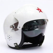 Flight/Pilot Open Face Motorcycle, Scooter Visors Helmet Casco 4 color.