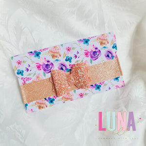 Floral Madness Clutch Coin Purse