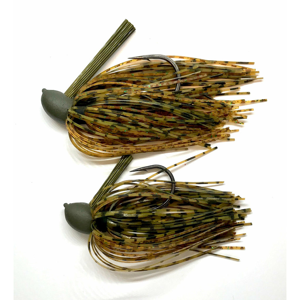Compact Pitching Jig- Whiskey Craw