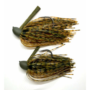 Coosa Cotton COMPACT Pitching Jig- Whiskey Craw