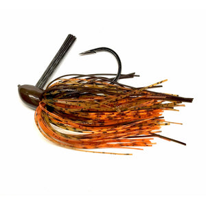 Pitching Jig- Orange Craw