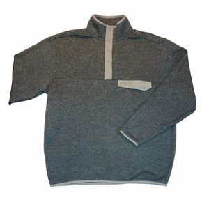 UpRiver Fleece Pullover- Heather Charcoal