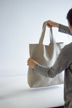 Load image into Gallery viewer, bag measurement is sixteen inch by fourteen-inch. seven-inch handle drops