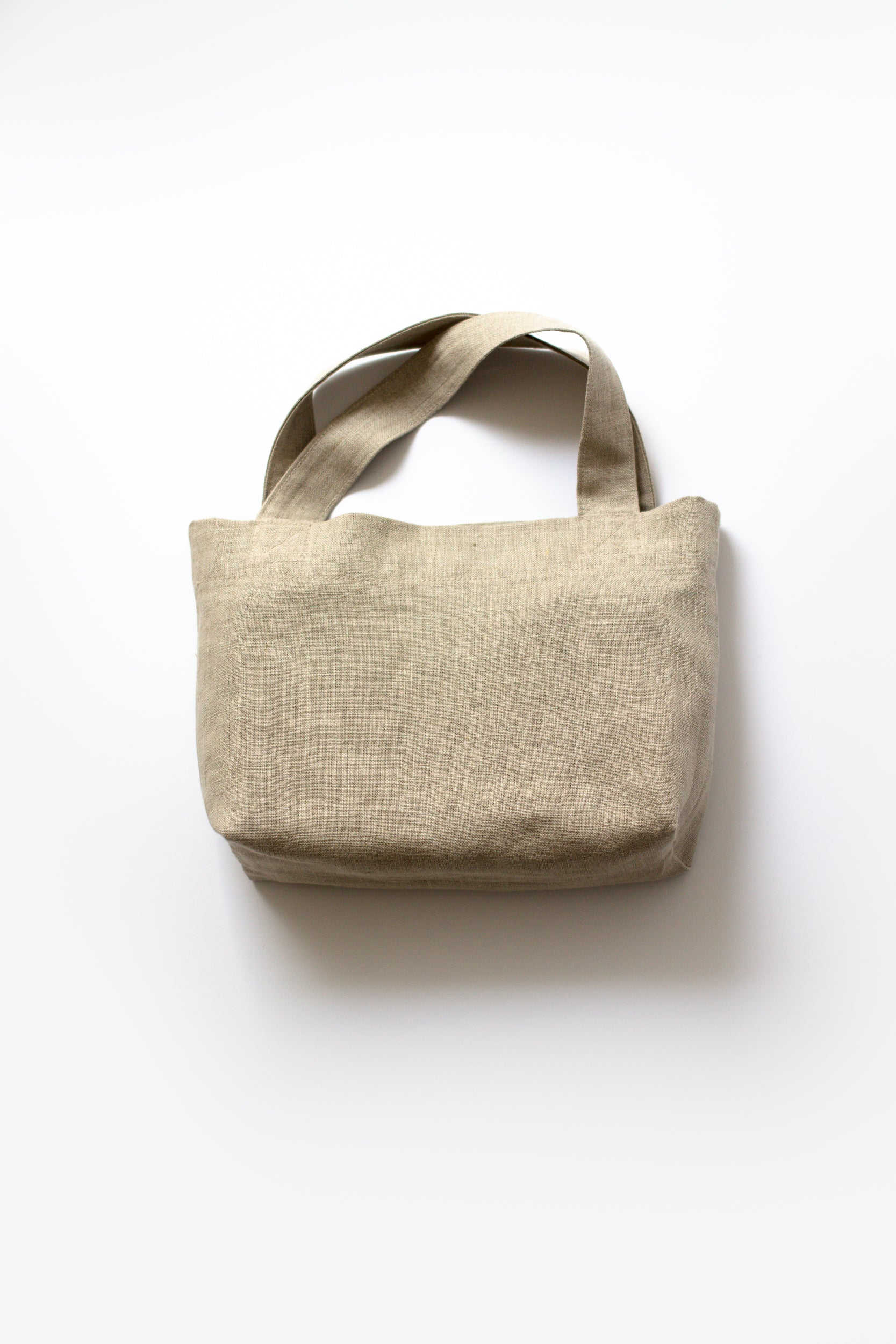 front view of revered bag. two built in pockets inside