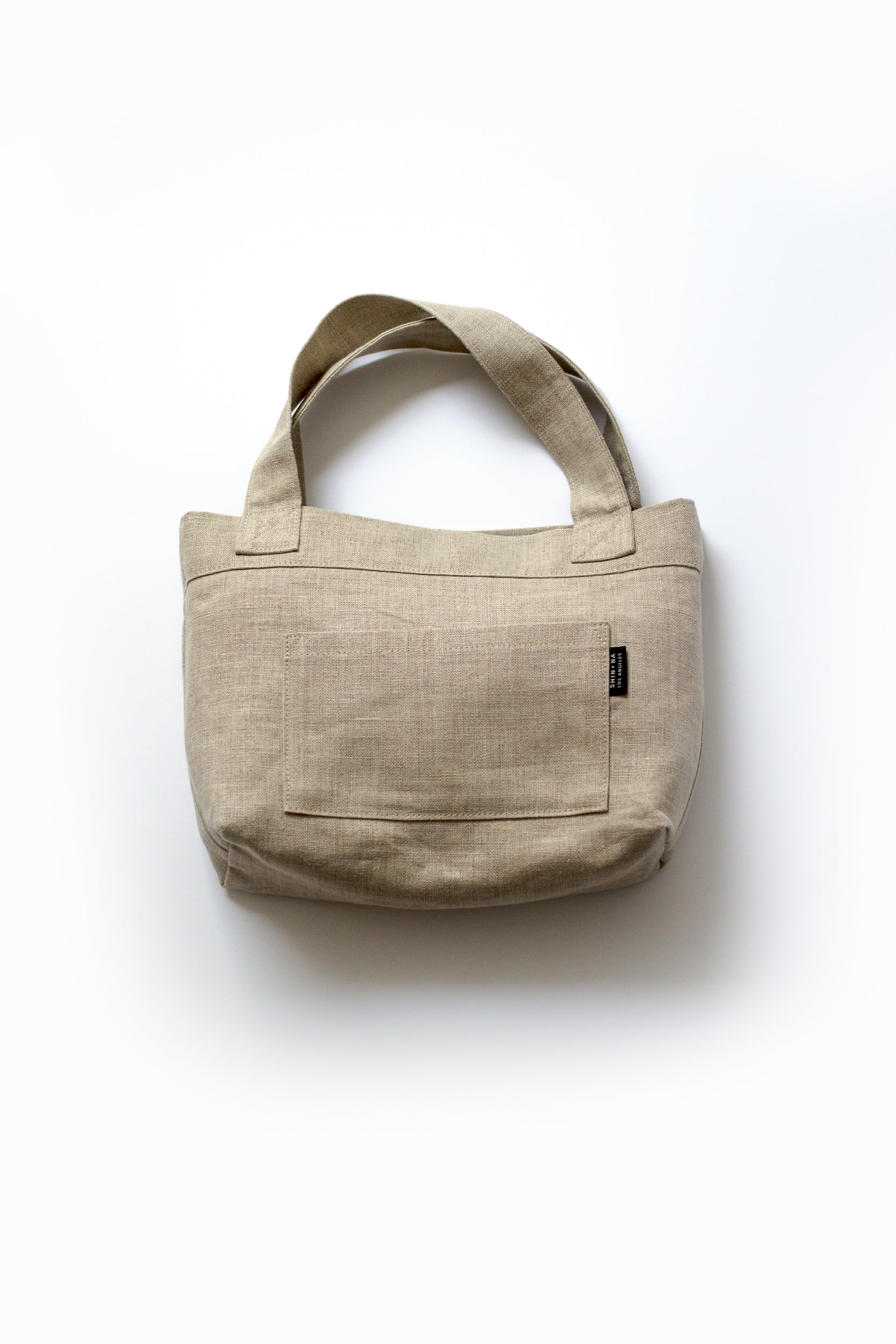 front view with four by seven inch pocket