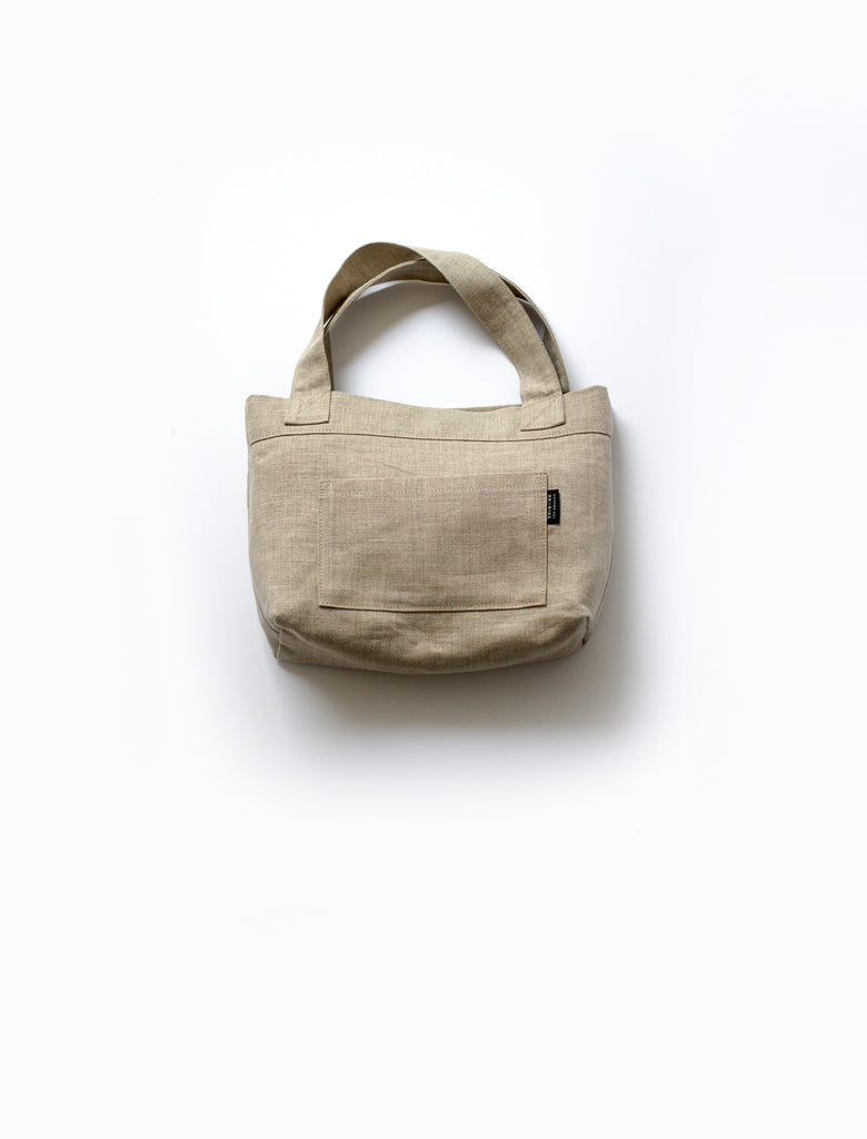 front view of Mitaka Small bag with one built in pocket