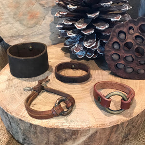 Leather Cuffs & Straps