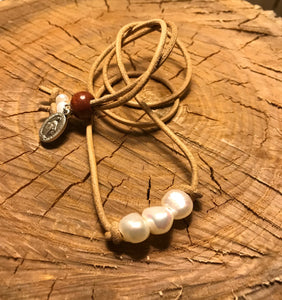 3 Pearl (Charity) Necklace