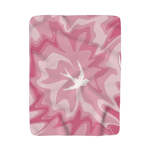 """Pinkie Love"" Festival Sherpa Fleece Blanket"