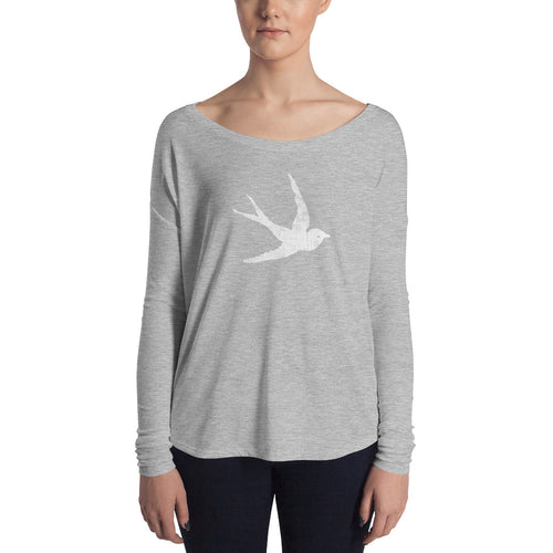 GypsyPanic Swallow Logo Women's Long Sleeve T-Shirt