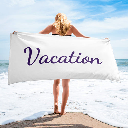 """Vacation"" Towel"