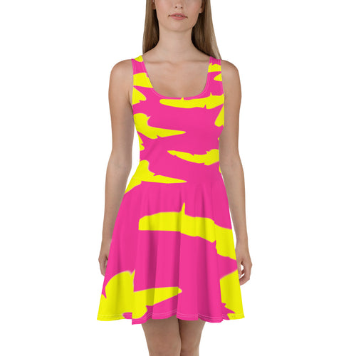 """Tripped Out"" Festival Skater Dress"