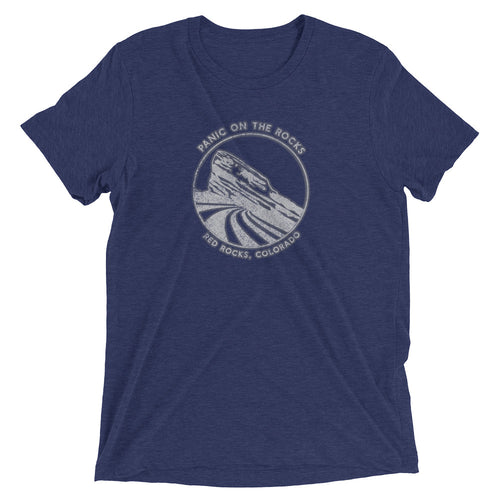 Widespread Panic Red Rocks Themed Men's T-Shirt