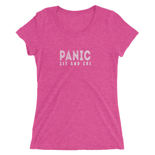 Widespread Panic Sit & Ski Tour Themed Women's T-Shirt