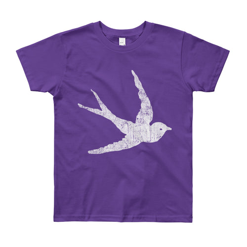 GypsyPanic Swallow Logo Kids T-Shirt (8years - 12years)