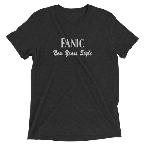 Widespread Panic New Years Eve, 12/31/2012, Charlotte NC, Men's Setlist T-Shirt