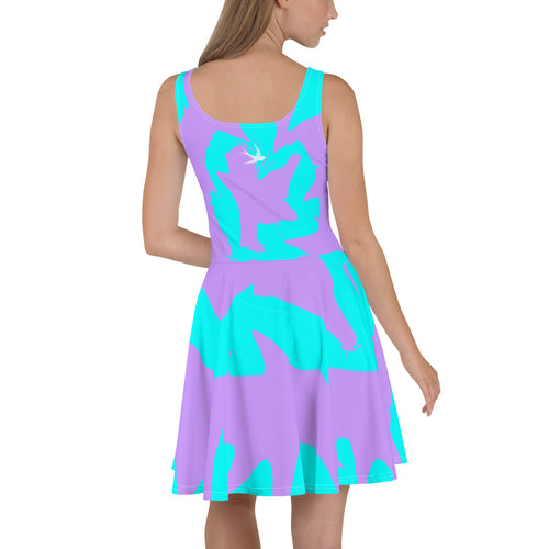 """She's Beautiful, Natural"" Festival Skater Dress"