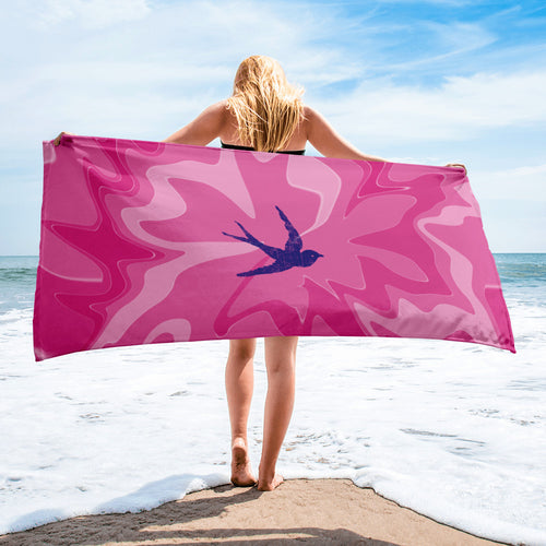 """Pinky Swallow"" Festival Towel"