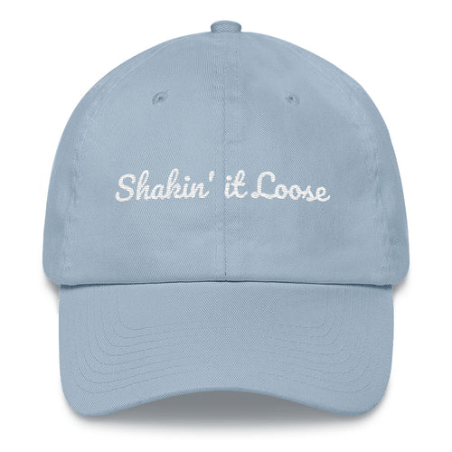 """Shakin' it Loose"" Embroidered Baseball Cap"