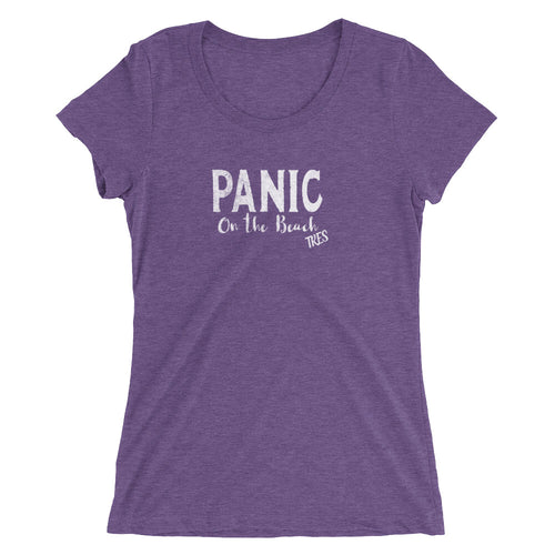 Widespread Panic Panic en la Playa Tres Themed Women's T-Shirt