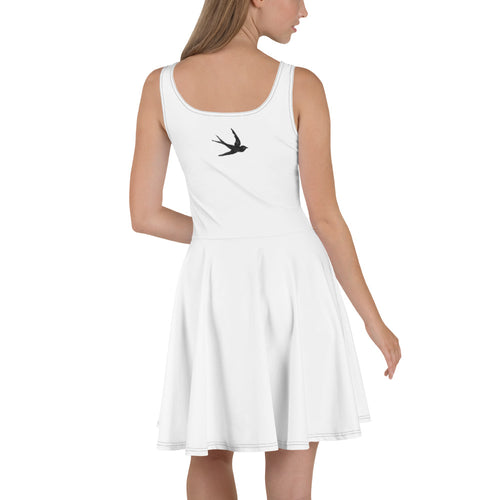 """Vacation on the Front/Swallow on the Back"" Concert & Festival Skater Dress"