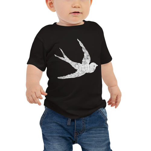 GypsyPanic Swallow Logo Baby T-Shirt