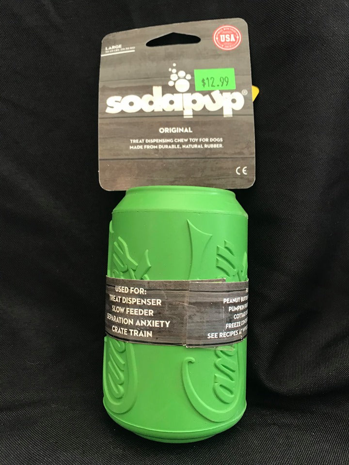 SodaPup Can Toy
