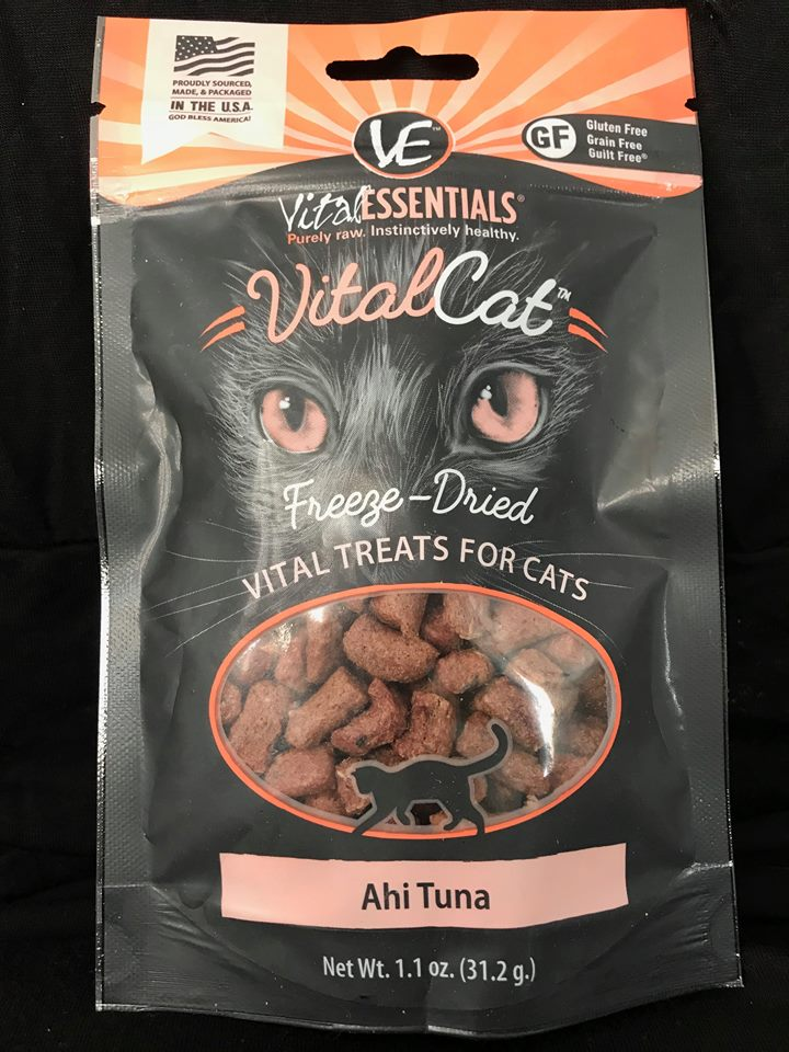 CAT Treat VitalCat Ahi Tuna Freeze Dried