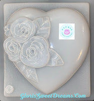 Heart With Roses - Corazon con Rosas