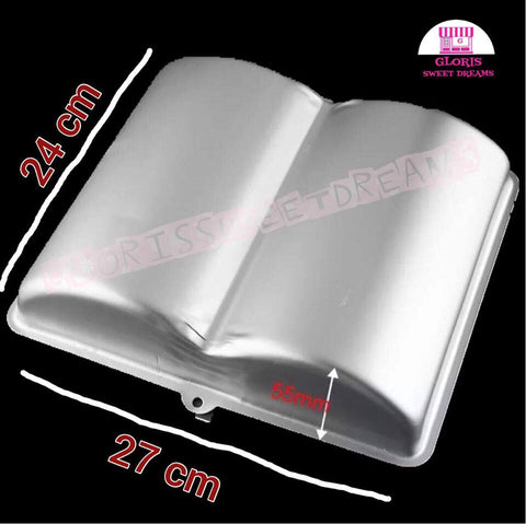OPEN BOOK METAL MOLD / LIBRO ABIERTO DE METAL