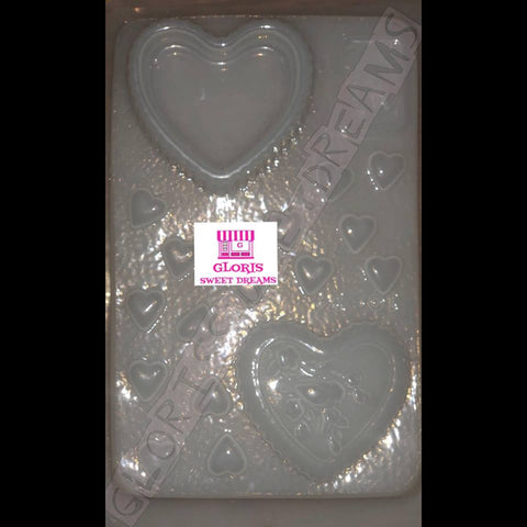 BOX OF HEART SHAPED - CAJA EN FORMA DE CORAZON