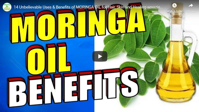 14 Unbelievable Uses & Benefits of MORINGA OIL By Natural Health Remedies | Video