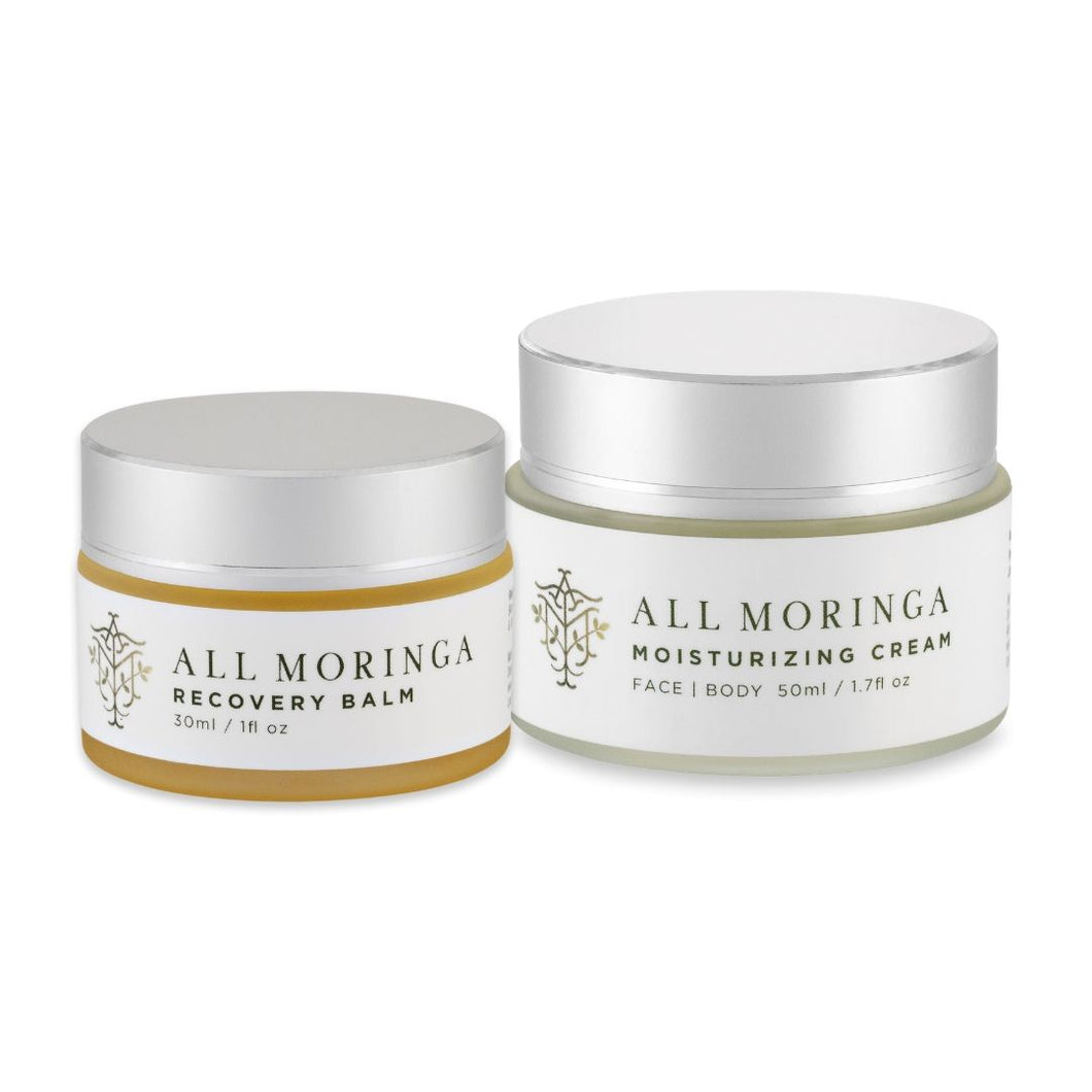 Moringa cream and balm