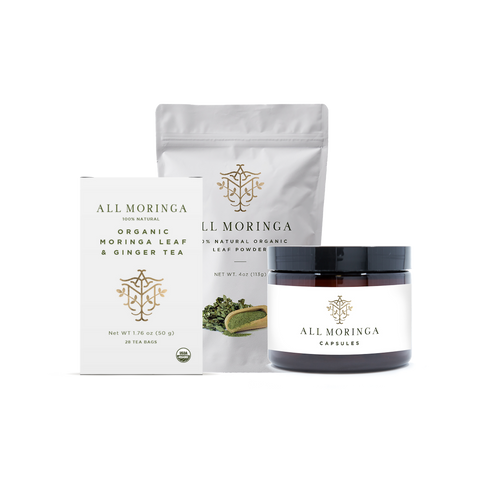 moringa leaf products