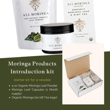 Load image into Gallery viewer, Nutritional All Moringa Products Bundle (Small size starter kit)