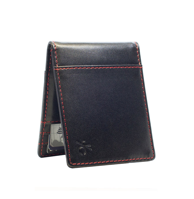 Back to Black Slim Wallet