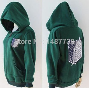 Attack on Titan Scouting Legion Hooded Sweater