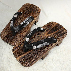 Geta Clogs Slippers Japanese Wooden Shoes