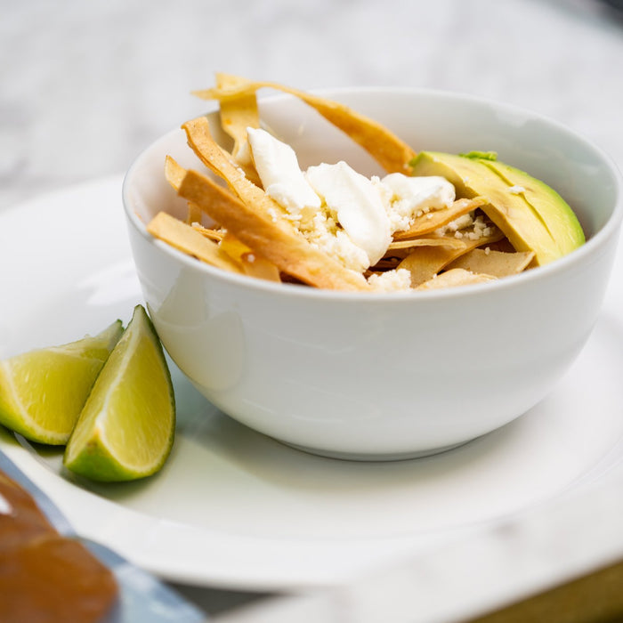 A Cold Weather Comfort - Simple  And Easy Tortilla Soup Recipe With Ancho Powder | Ole Rico
