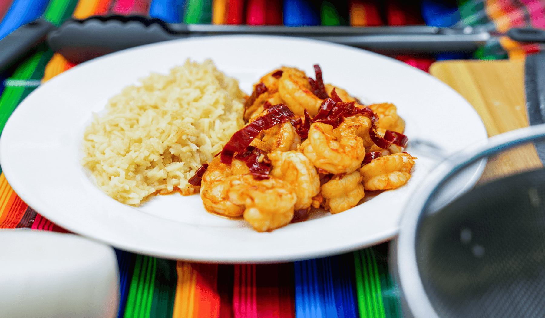 "Camarones a la ""Grandpa"" - Easy To Make Shrimp With Dried Guajillo Chile Peppers 