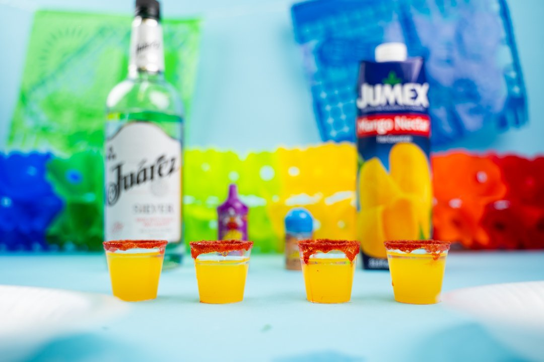 How To Make A Mango Shot With Mexican Candy | Ole Rico