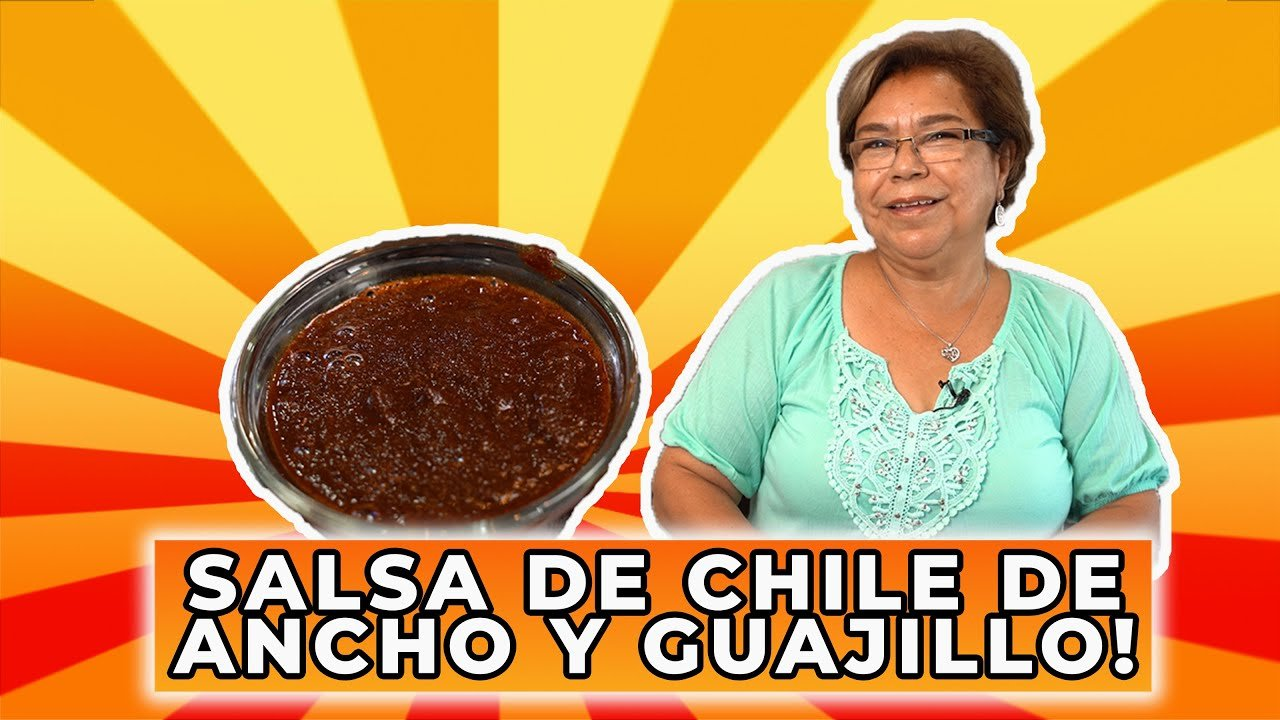 How To Make Dried Ancho Peppers and Dried Guajillo Chilis Sauce | Ole Rico