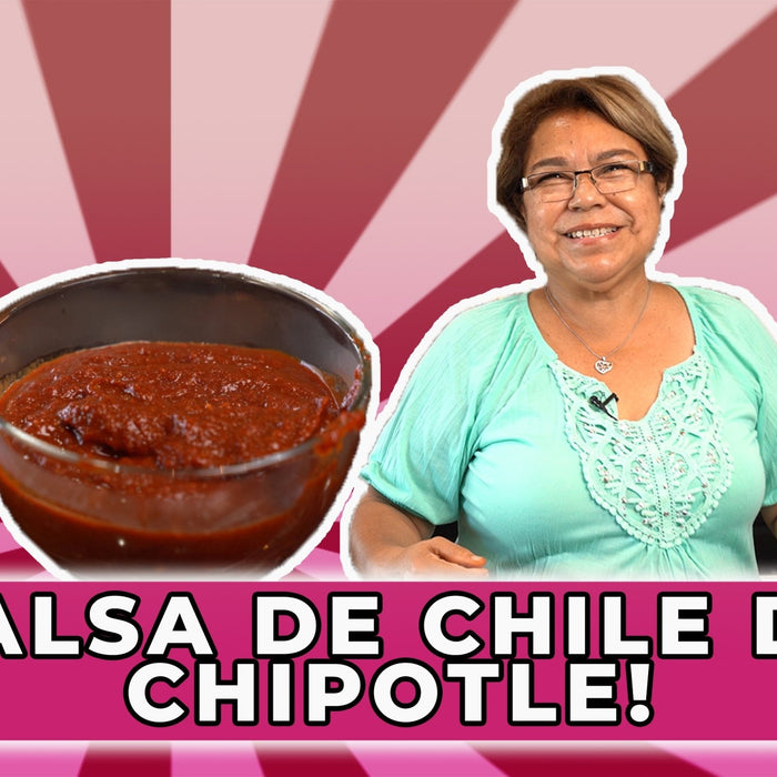 How To Make Chipotle Sauce From Dried Chipotle Peppers - Recipe | Ole Rico