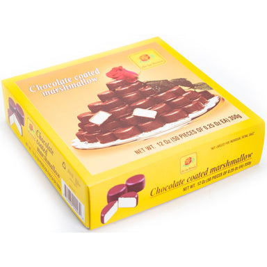De La Rosa - Chocolate Coated Marshmallow 50 pcs - Ole Rico