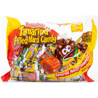 De La Rosa - Pulparindo Assorted Hard Candy 68 pcs - Ole Rico